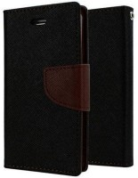 Ribber Flip Cover for Xiaomi Redmi Note 5(Black, Brown, Artificial Leather)
