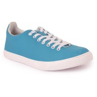 Pery-Pao Mens Blue Casual Shoes Sneakers(Blue)