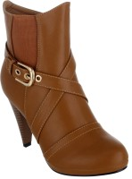 Shuz Touch Boots For Women(Brown)