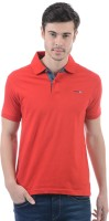 Pepe Jeans Solid Men's Polo Neck Red T-Shirt