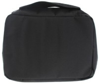 Italish Portable Cosmetic Makeup Pouch Travel Toiletry Zipper Storage Hanging Bag Travel Toiletry Kit(Black)