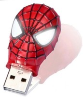 View Green Tree Spiderman head 16 GB Pen Drive(Black) Laptop Accessories Price Online(Green Tree)