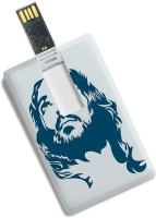 View 100yellow Credit Card Type Jesus Printed 8GB Plastic Pen Drive 8 GB Pen Drive(Multicolor) Laptop Accessories Price Online(100yellow)