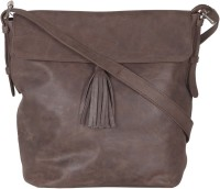 Faro Women Brown Genuine Leather Sling Bag