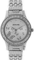 Sonata 8123SM01  Analog Watch For Women