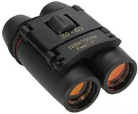 U. R. GOD Foldable With Strap And Pouch Binoculars(126 mm, Black)