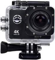 Doodads 4K Wifi Pro Sports & Action Camera(Black)