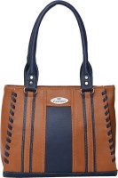 FD Fashion Shoulder Bag(Tan, Blue)