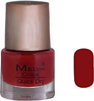 Medin Fine_Nail_Paint_Brown Brown(12 ml) - Price 70 64 % Off