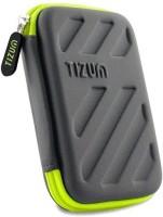 TIZUM Hard Drive Case 2.5 inch HARDSHELL(For Hard Drive Case, Grey)