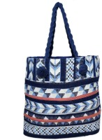 Diwaah Women Blue Cotton Tote