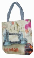 ALiVE COTTON SHOPPING PRINTED BAG 1 Weekender(Multicolor, 8 L)