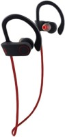 Defloc qc10 headphone 116 Wireless bluetooth Headphone(Red, In the Ear)
