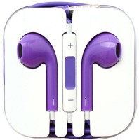 View JK ERFINDERS LATEST EARPHONE Headphone(Purple, In the Ear) Laptop Accessories Price Online(JK ERFINDERS)