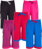Ultra Fit Three Fourth For Boys(Multicolor Pack of 5)