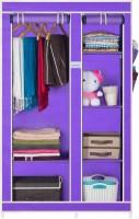 View CbeeSo Carbon Steel Collapsible Wardrobe(Finish Color - Lavender) Furniture (CbeeSo)