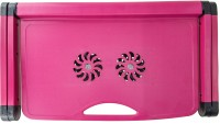 View Boffi LAPTOPTABLE07 Cooling Pad(Pink) Laptop Accessories Price Online(Boffi)