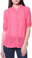 Aditii's Mantra Girl's Solid Casual Shirt