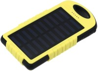 View Voltegic ® Solar Charger 5000mAh Solar Power Bank Dual USB Port Portable Charger Solar Battery Charger for iPhone iPad Cell Phone USB Light Solar Charger-Type-013 USB Charger(Black, Yellow) Laptop Accessories Price Online(Voltegic)