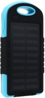 View Voltegic ™ 5000 mAh Dual-USB Waterproof Solar Power Bank Battery Charger for Cell Phone USB Light Solar Charger-Type-012 USB Charger(Black, Blue) Laptop Accessories Price Online(Voltegic)