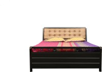 View Diamond Interiors Metal Queen Bed With Storage(Finish Color -  Black) Furniture (Diamond Interiors)