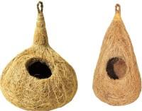 View BRAMMA handmade combo of 2 coir Bird House(Hanging) Furniture (BRAMMA)