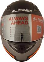 LS2 Piston Motorbike Helmet(Black)