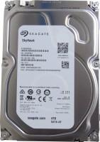 View Seagate SkyHawk 4 TB Desktop Internal Hard Disk Drive (ST4000VN000) Price Online(Seagate)
