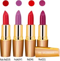 Rythmx Golden Lipstick Combo 548 547 521 546(16 g, Multicolor,) - Price 371 76 % Off