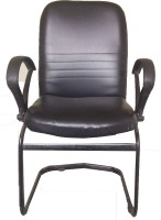 View afsara Leather Office Arm Chair(Black) Furniture (afsara)