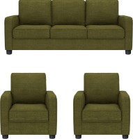 GIOTEAK Fabric 3 + 1 + 1 GREEN Sofa Set