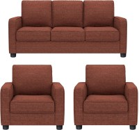 View GIOTEAK Fabric 3 + 1 + 1 MAROON Sofa Set Furniture (GIOTEAK)