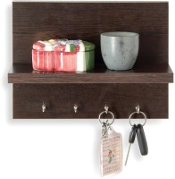 iessential Engineered Wood Display Unit(Finish Color - Wenge)