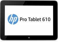 HP 610 Pro 64 GB 10.1 inch with Wi-Fi Only Tablet (Black)