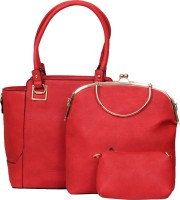The Ethnic Wears Shoulder Bag(Red, 14 inch)
