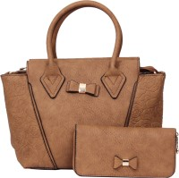 The Ethnic Wears Shoulder Bag(Brown, 14 inch)