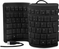 View Dragon Flexible Keyboard Black Combo Set(Black) Laptop Accessories Price Online(Dragon)