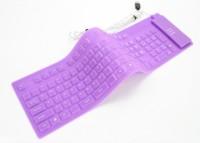 View Dragon Flexible Keyboard Purple Combo Set(Purple) Laptop Accessories Price Online(Dragon)