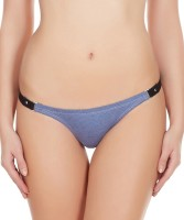 La Intimo Womens Thong Blue Panty(Pack of 1) - Price 299 76 % Off