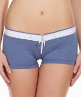 La Intimo Womens Boy Short Blue Panty(Pack of 1) - Price 299 76 % Off