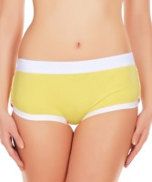 La Intimo Womens Hipster Yellow Panty(Pack of 1) - Price 299 76 % Off