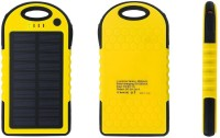View Voltegic ™ Dustproof & Waterproof & Shockproof 5000mah Solar Power Bank Dual Ports USB Light Solar Charger-Type-003 USB Charger(Black, Yellow) Laptop Accessories Price Online(Voltegic)