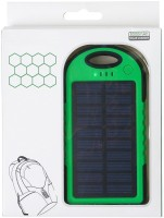 View Voltegic ® 5000 mAh Dual-USB Waterproof Solar Power Bank Battery Charger for Cell Phone USB Light Solar Charger-Type-009 USB Charger(Black, Green) Laptop Accessories Price Online(Voltegic)