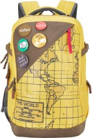 Safari Atlas Yellow 42 L Laptop Backpack(Yellow)