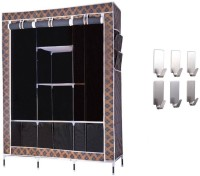 View onlyimported.com Premium Carbon Steel Collapsible Wardrobe(Finish Color - BLACK) Furniture (Onlyimported.com)