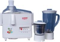 Electromax Mark-1 400 Juicer Mixer Grinder(White, 2 Jars)