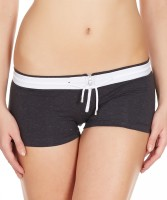 La Intimo Womens Boy Short Black Panty(Pack of 1) - Price 299 76 % Off