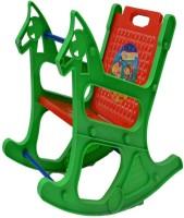 View Taaza Garam Plastic Rocking Chair(Finish Color - red) Furniture (Taaza Garam)