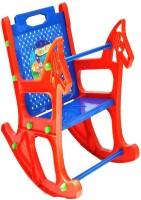 View Taaza Garam Plastic Rocking Chair(Finish Color - blue) Furniture (Taaza Garam)