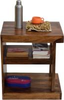 View TimberTaste NEELU Solid Wood Side Table(Finish Color - Natural Teak) Furniture (TimberTaste)